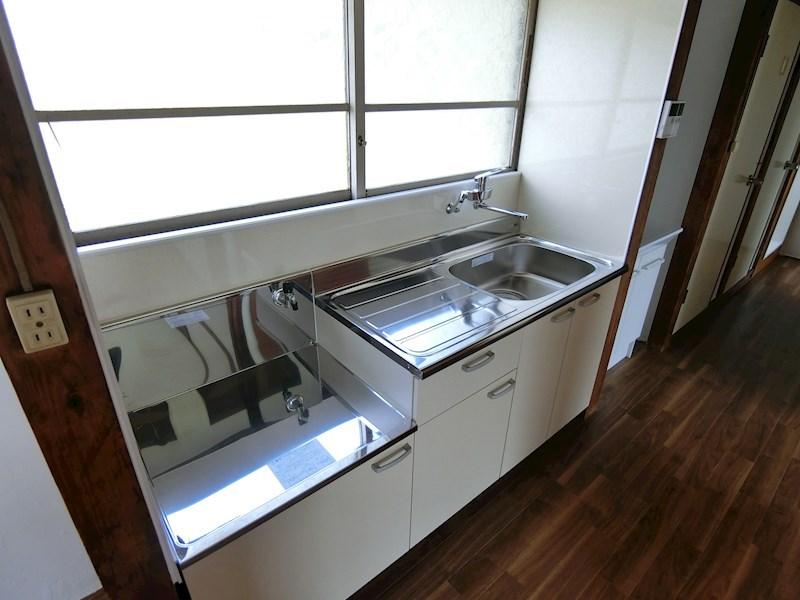 八木アパート(作業員の方歓迎)  キッチン