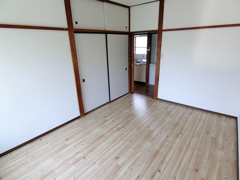 八木アパート(作業員の方歓迎)  ベッドルーム