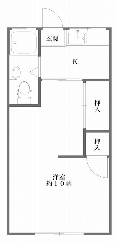オリエント第1ビル 303号室 間取り