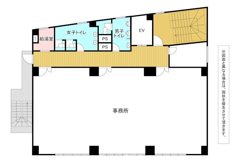FujimiSquare 4階号室 間取り