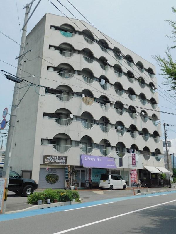 京町スカイマンション 401号室 外観