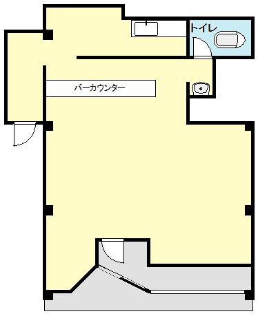 櫻井テナント 01号室 間取り