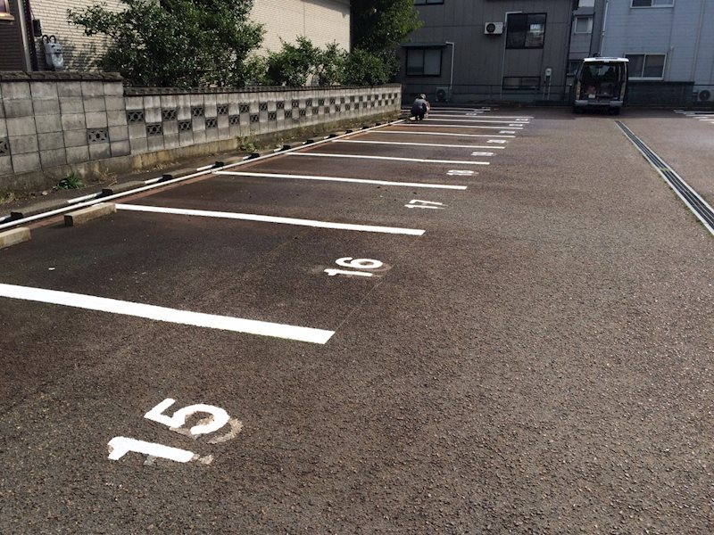 桑原駐車場 外観