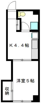 廣瀬マンション 101号室 間取り