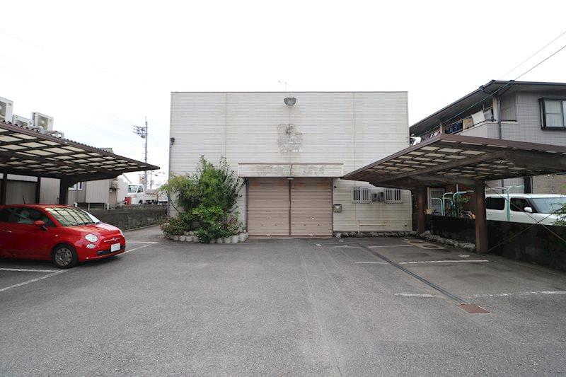 広江事務所倉庫 中2階有り 外観