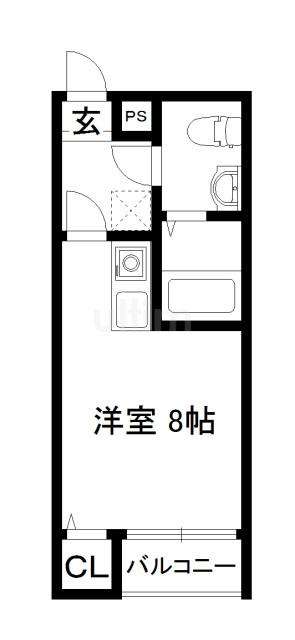 KYOTO HOUSE東寺 間取り