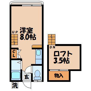サンモール川平 103号室 間取り