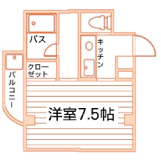 グランシャリオ太秦 間取り図