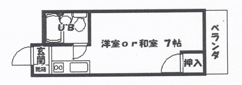 メゾン・ド・フルール 間取り図