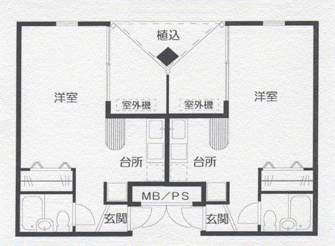 サクセス21 間取り図