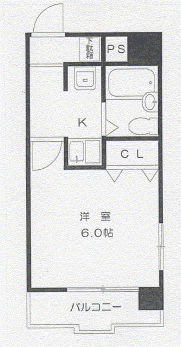 垂水ハウス一番館 間取り図