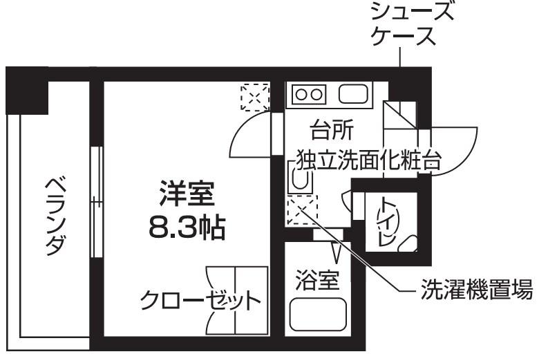 Do more Kobe 間取り図
