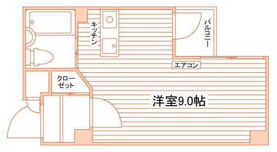 アンシャンテ21 間取り図