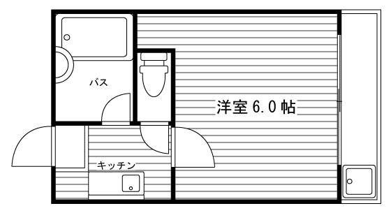 シティコーポ円町 間取り図