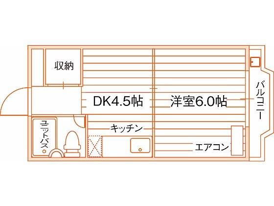 IVY SQUARE 西ノ京 間取り図