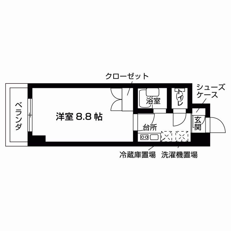 エル・セレーノ本能寺町  間取り図