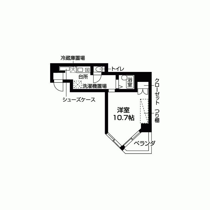 エスポワール京都 間取り図