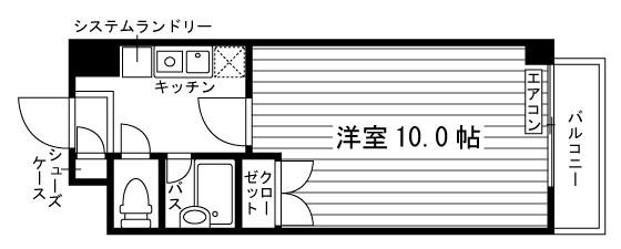 AZUL-KOBEⅡ 間取り図