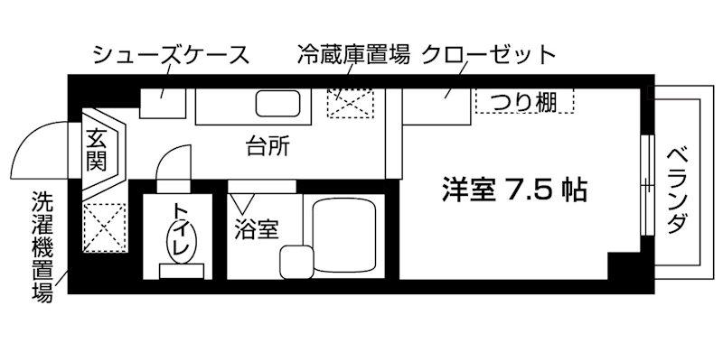 CAP21 間取り図