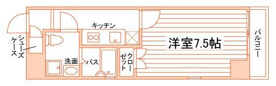 (仮称)西院上花田町学生マンション 間取り図