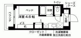 キャンパスヴィレッジ京都一乗寺 間取り図