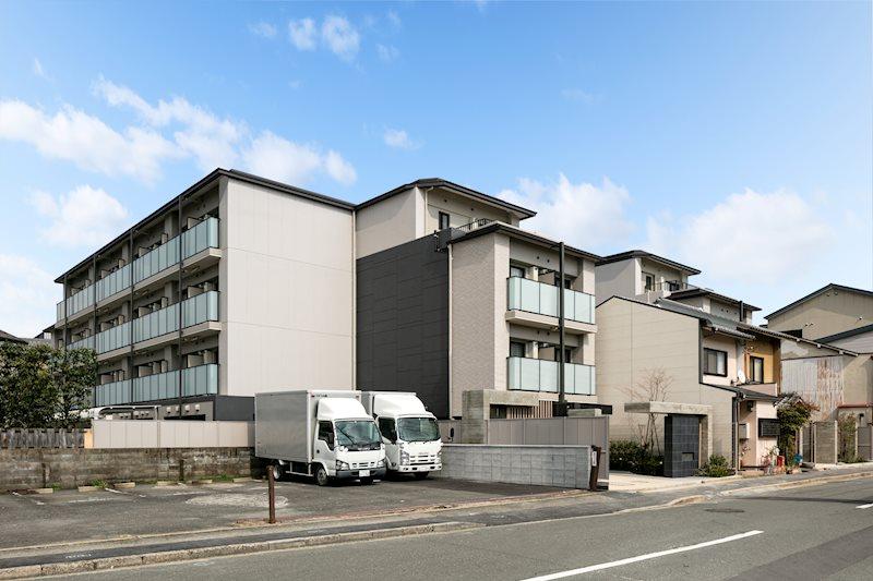 キャンパスヴィレッジ京都一乗寺 外観写真