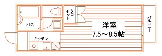 グランシャリオ嵯峨野Ⅱ 間取り図