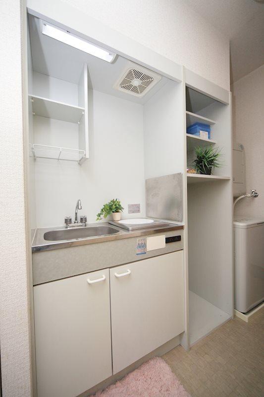 グランシャリオ嵯峨野Ⅱ キッチン