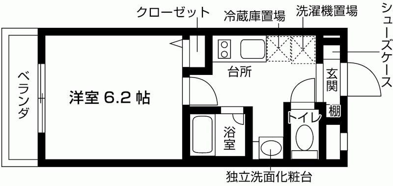(仮称)豊四季新築学生マンション 間取り図