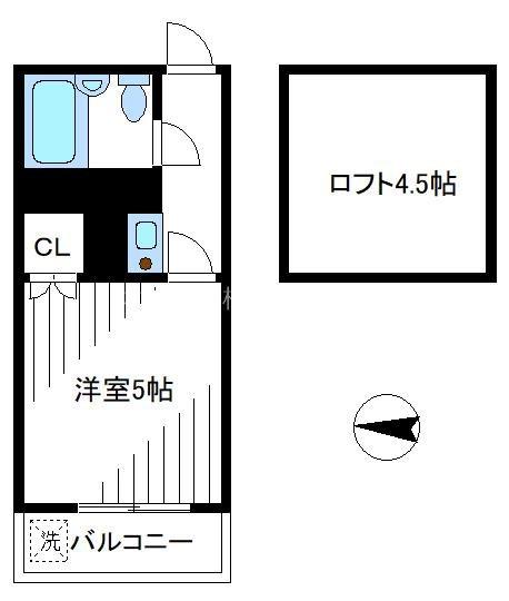 ペンションハウスコスモス21 210号室 間取り
