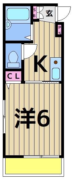 エーデルハイム・ソメヤⅡ 301号室 間取り