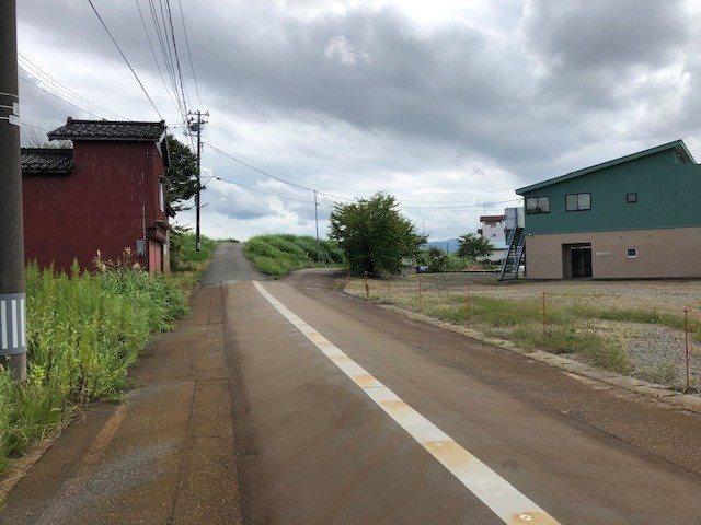 長岡市中之島土地 リビング