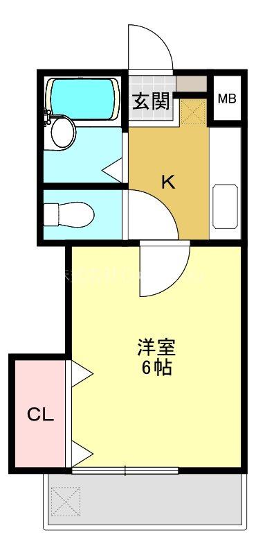 神奈川県横浜市港北区大曽根1丁目 間取り