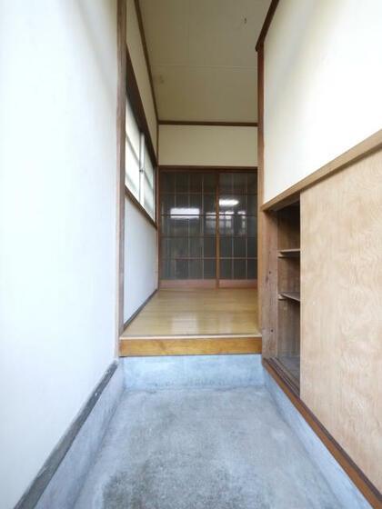 富士見荘 玄関
