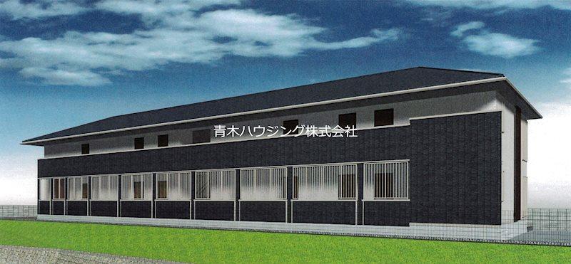 片倉町新築アパート 205号室 外観