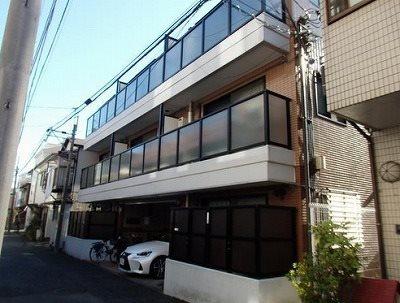 横浜市中区新山下1丁目楽器可(防音・グランドピアノ・弦楽器・声楽)アパート 外観
