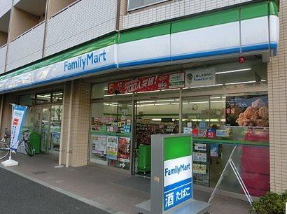 ファミリーマート江古田千川通り店 412m