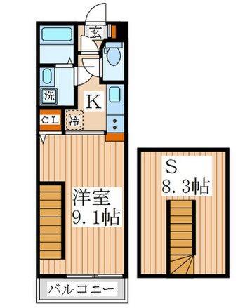 西東京市芝久保町2丁目楽器可(グランドピアノ・弦・管楽器)マンション 間取り