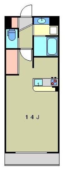 板橋区桜川2丁目楽器可(防音・グランドピアノ・弦・木管楽器・声楽)マンション 206号室 間取り