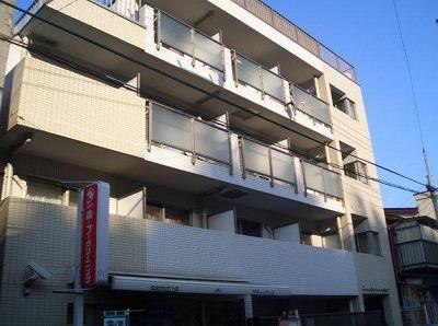 横浜市中区新山下1丁目楽器可(防音・グランドピアノ・弦楽器)マンション 402号室 外観