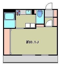 練馬区石神井町7丁目楽器可(ピアノ・弦管打楽器・声楽)マンション 201号室 間取り