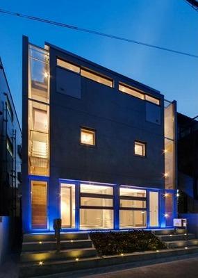 中野区中央4丁目楽器可防音マンション(ピアノ・弦管楽器・声楽・DTM)メゾネットマンション S201号室 外観