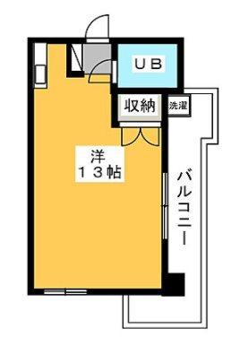 中野区江原町1丁目楽器可(グランドピアノ・弦楽器・声楽・DTM)マンション 5-C号室 間取り