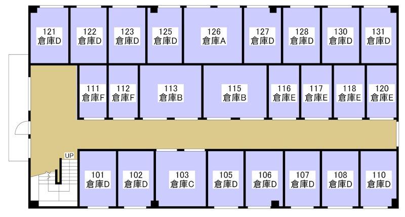 ぷち蔵ビルB 葵西四丁目 B120号室 間取り