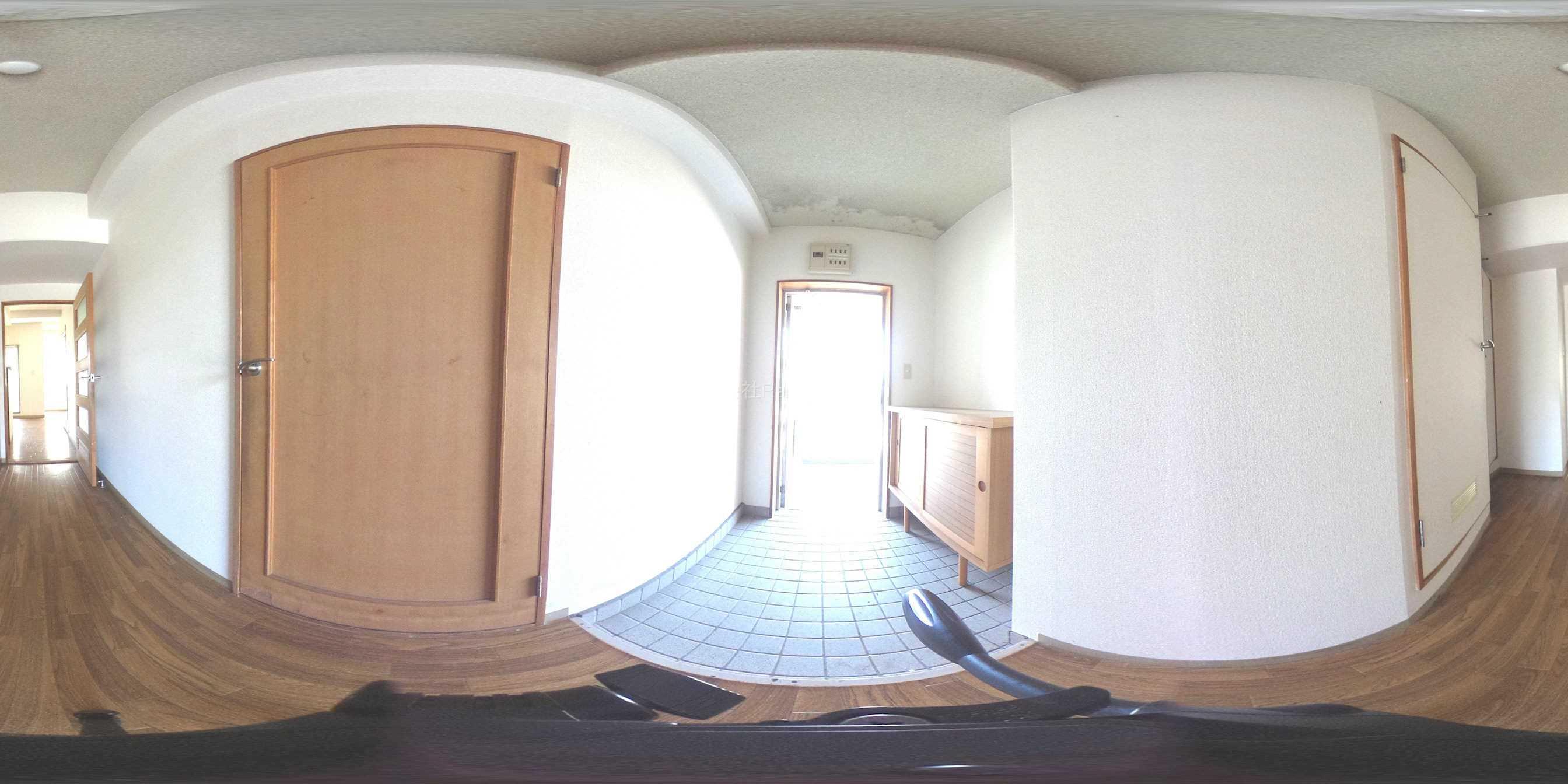 サンライズ松原 玄関