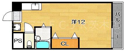 山崎第7マンション 間取り