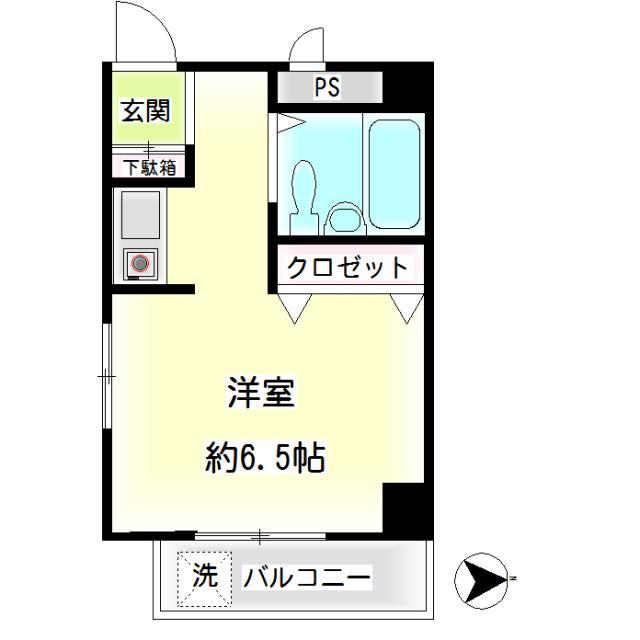 第22新井ビル 間取り