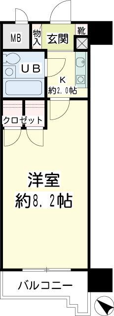 NICEアーバン横濱駅東館 間取り