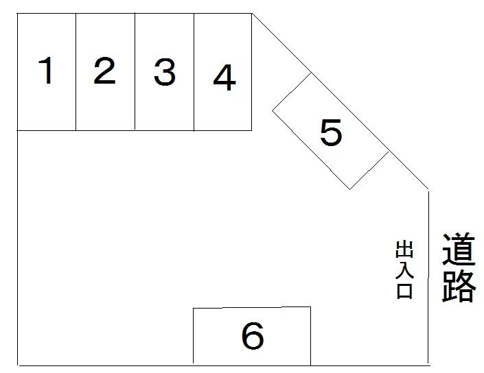 アオキ第三駐車場 間取り