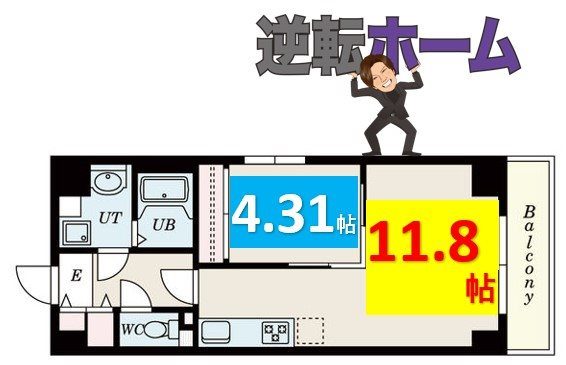 S-FORT鶴舞cube 間取り